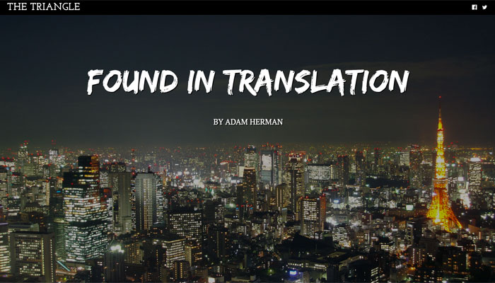 Found in Translation by Adam Hermann