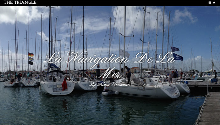 La Navigation de la Mer by Adam Hermann